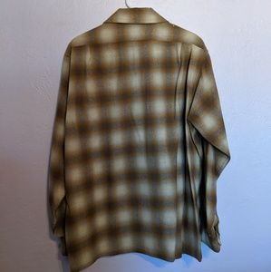 Pendleton Shirts - Vintage Pendleton Button Up Plaid Shirt - Large
